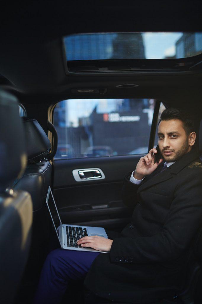 Classy businessman